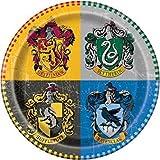 kit festa Harry Potter,piatti Harry Potter,24 piatti Harry Potter,1 tovaglia Harry Potter, 8 occhialini , 1 festone