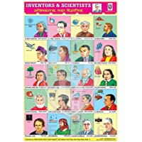 Inventors And Their Inventions Chart- Scientists Chart For Basic Science Learning | The Beginner learning Chart For…