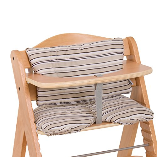 Hauck Highchairpad - Cojín para trona, color multi beige