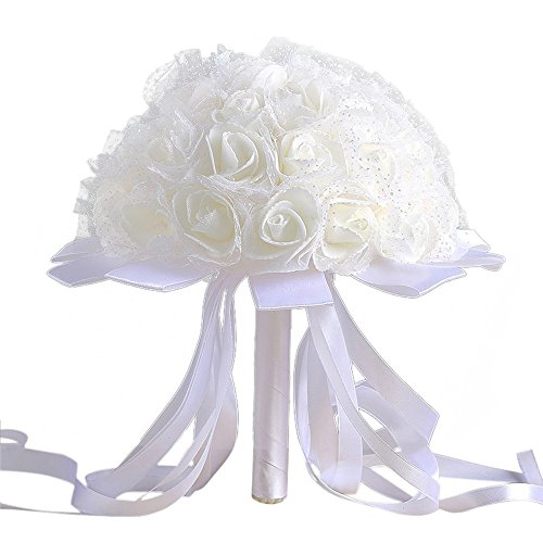 zycshang-1-bouquet-artificial-modern-white-crystal-roses-elegant-ribbon-decoration-romantic-atmosphe