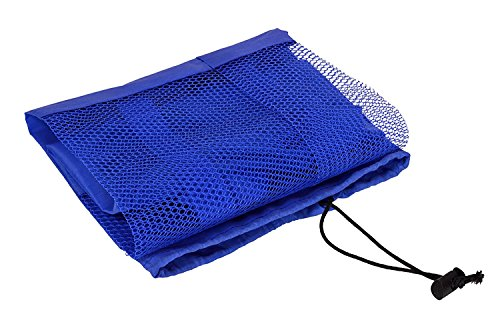 AmazingHind-Yoga-mat-coverYoga-mat-bag-Fitness-Carrier-Nylon-Mesh-Center-Strap-Blue