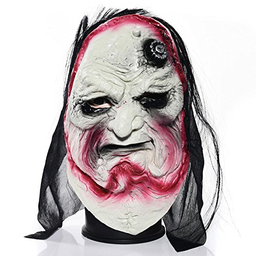 Halloween Geist Festival Maskerade Gesicht Maske Horror Grimasse Latex Kopf Set ganze Körper Zombie Teufel Maske für Maskenball/Maskenball / Halloween Dekoration