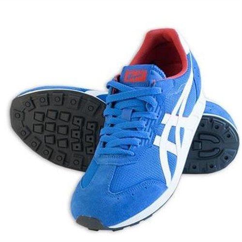 Asics A-SIST D431N Unisex-Erwachsene Sneaker, Blau