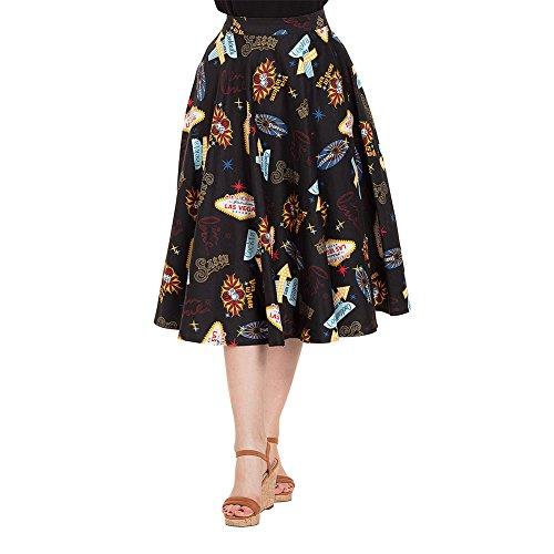 ppa Las Vegas Skirt 3342 (M, Navy Blau) (Vixen Kostüm)