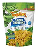 TropicMax All Natural Gluten Free Sea Salt Plantain Croutons 142g (Pack of 4)