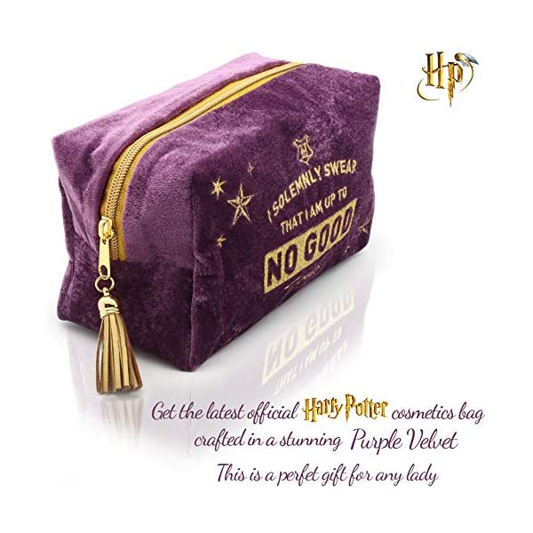 Harry Potter Neceser de Viaje para Mujer y Niñas Organizador de Bolso Cosmético Accesorios de Viaje Estuche de Maquillaje