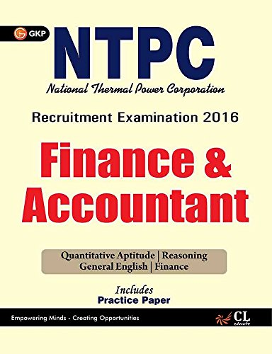 NTPC Finance & Accountant (Includes Practice Paper)
