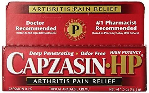 Capzasin -Hp Arthritis Relief Topical Analgesic Cream, .1-Percent Capsaicin, 1.5-Ounce