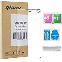 Cadorabo - Pantalla de Vidrio Templado (Tempered) Cristal Antibalas Pellíula Protectora para Sony Xperia C4 0,3 mm bordes redondeados - TRANSPARENCIA ELEVADO