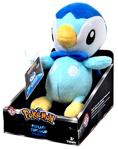 "POKEMON PIPLUP 7"" PLUSH TOMY TRAINERS CHOICE 3"