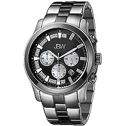 Just Bling Herren JB-6218-A Classic Two-Tone Chronograph Diamond Watch