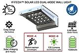 #8: IFITech® Solar Dual-mode LED wall Light with motion sensor - Rev2