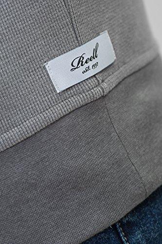 REELL Men Sweatwear Stitch Crewneck Artikel-Nr.1304-016 - 10-072 Clay Olive