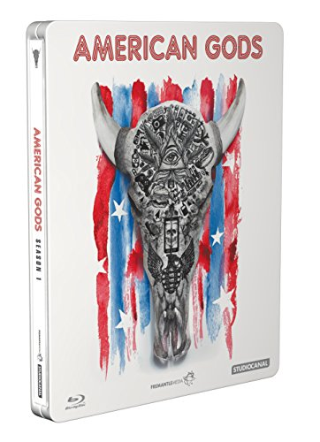 American Gods - Staffel 1 Steelbook (exklusiv bei Amazon.de) [Blu-ray] [Limited Edition]