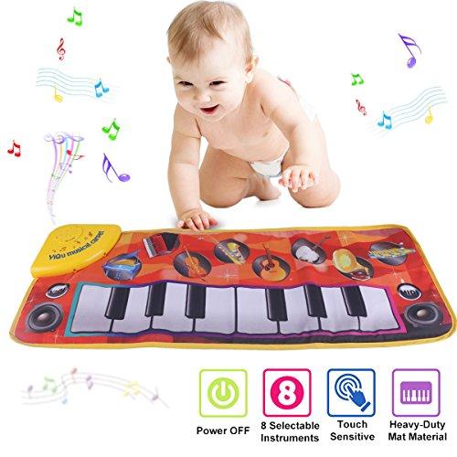 Klavier Matte, Kinder Elektronisch Tastatur Musik Spielmatte Spielzeug, Komisch Tanzen Matte Babys Jungen und Mädchen Geschenk