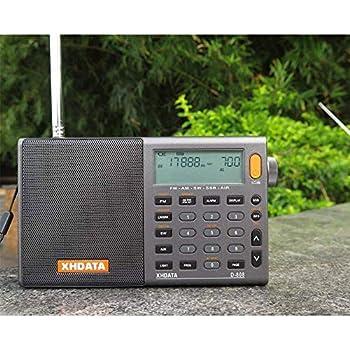 Tragbares Audio & Video Digital Lcd Display Empfänger Radio Kopfhörer Fm Mini Dual Kanal Lautsprecher Eingebaute Antenne Single Band Tragbare Hören Test Radio