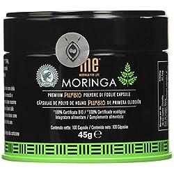 Me Moringa for Life Polvere Bio 100% in Capsule - 110 g