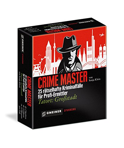 Gmeiner 581567 - Crime Master, Kriminalspiel