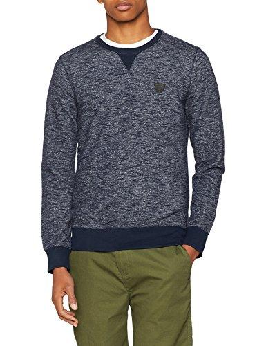 Kaporal BRONZ, Sweat-Shirt Homme, Bleu (Navmel), XL (Taille Fabricant: XL)