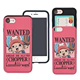 iPhone 8/iPhone 7 Coque One Piece Fin Slider Housse : Emplacement pour Carte Absorption des Chocs Double Couche Support Bumper pour Iphone8/Iphone7 (11,9 cm) Look Chopper (iPhone 8/iPhone 7)