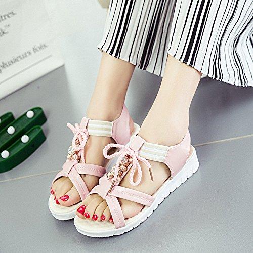 XY&GK Donna Sandali un estate sandali scorrere con gli studenti All-Match donne incinte scarpe Pink