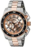 INVICTA MEN'S PRO DIVER 48MM TWO TONE STEEL BRACELET QUARTZ ANALOG WATCH 21956