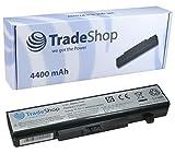 TradeShop Hochleistungs Li-Ion Akku, 10,8V/11,1V/4400mah für IBM Lenovo ThinkPad B480 B485 B490 B585 B590 B4400 B5400 E49 E4430 G400 G405 G410 G500 G505 G510 G700 G710 M490s M5400 M5400 Touch V490u