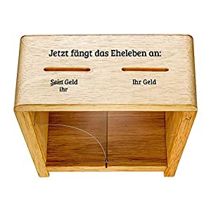 lustige spardose zur hochzeit spruch spardose f r eheleute als geldgeschenk. Black Bedroom Furniture Sets. Home Design Ideas