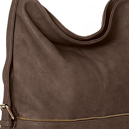 CASPAR Taschen & Accessoires, Borsa a tracolla donna Talpa