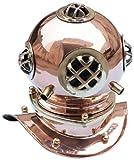 Hampton Nautisches Kupfer Taucher Helm, 22,9cm Kupfer