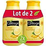Cottage Douche Lait Citron Gourmand 2 x 250 ml -