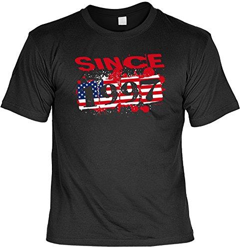 Cooles Usa T-Shirt zum 20 Geburtstag : Usa 1997 -- Fun T-Shirt 18 Geburtstag Schwarz