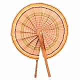 Indrani Collection Hand Fan - (2 x 4 x 2...