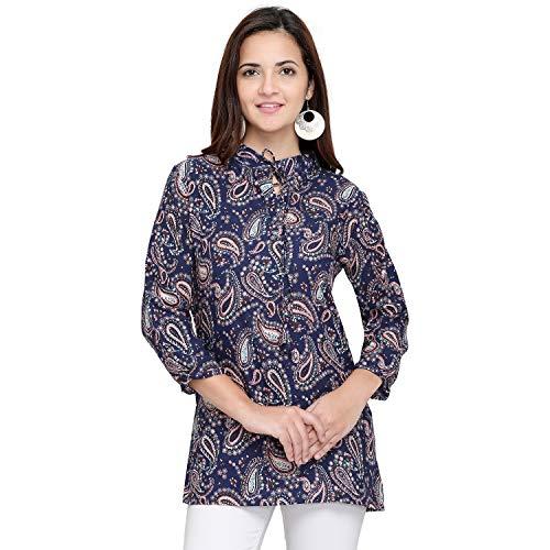 Vrati Fashion Women Tunic Short Top For Jeans Plain Diamond Creap Top For Daily wear Stylish Casual and Western Wear Women/Girls Top