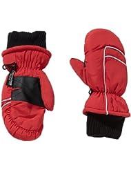 fraenklis Skifäustlinge Skihandschuhe Thinsulate - Guantes de esquí para niño, color rojo, talla 3