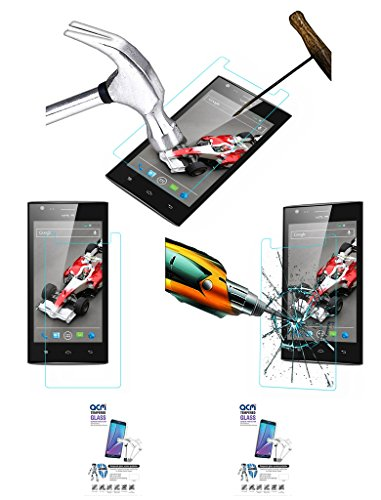 Acm Pack Of 2 Tempered Glass Screenguard For Xolo A600 Mobile Screen Guard Scratch Protector  available at amazon for Rs.229