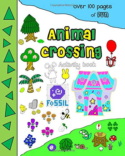 Animal crossing activity book over100 pages of fun por Mrs Minaz Qayoom