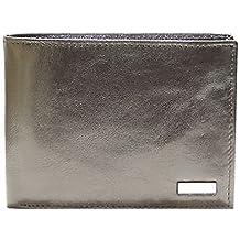 Billetera de cuero de los hombres GUESS a. LEA24 SM0731 negro negro