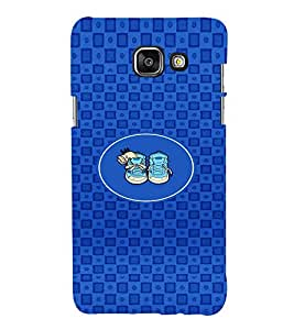 PRINTVISA Abstarct Cute Shoes Case Cover for Samsung Galaxy A7 A710 (2016 Edition)