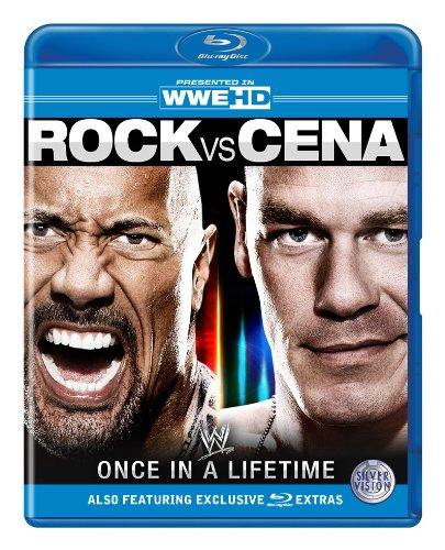WWE - Rock vs Cena: Once In A Lifetime [Blu-ray] [UK Import]