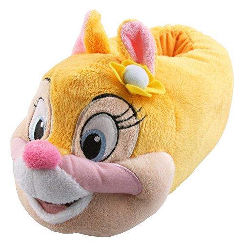 Tierhausschuhe Plüsch Hausschuhe Disney Chip Chap Pantoffel Kids Streifenhörnchen Kinder Puschen Original Schlappen, TH-DABHOERN Gelb