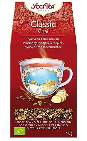Yogi Tea Thé Bio Classique Chai en vrac 90 g