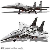 F15 Militar Caza Edificio Modelo / ejército guerra tanque de guerra avión barco #JX005