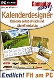 Computer easy - Kalenderdesigner - Schnell & Professionell [import allemand]