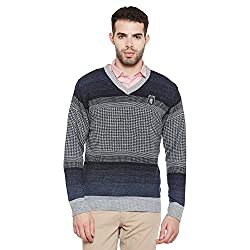 Duke Mens Poly Cotton Sweater (Bbapldk36033_Xl_Ecru_X-Large)