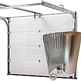 SuperFOIL Kit d'isolation pour porte de garage –Feuilles isolantes de 6m² (SuperFOIL SFBA MP)