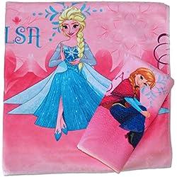 Disney Frozen Ice Castle - Juego de toallas infantil