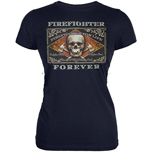 Feuerwehrmann für Life Junioren weichen T Shirt Marine MD (Junioren T-shirt Marines)