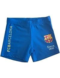 FC Barcelone - Boxer de bain FC Barcelone enfant bleu Taille de 6 à 14 ans - 6 - 8 ans,8- 10 ans,10-12ans,12 - 14 ans