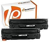 Bubprint 2 Toner kompatibel für HP CF279A 79A für Laserjet Pro M12 M12A M12W M26A M26NW M26 Series 1000 Seiten Schwarz Black